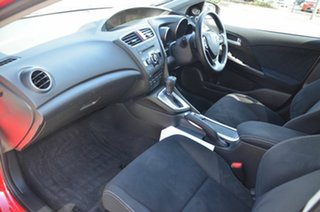 2013 Honda Civic Series 2 VTi-L Red 5 Speed Automatic Sedan