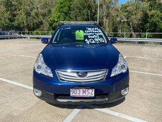 2009 Subaru Outback MY09 2.5i AWD Blue 4 Speed Auto Elec Sportshift Wagon