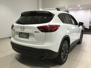 2015 Mazda CX-5 KE1032 Akera SKYACTIV-Drive AWD White 6 Speed Sports Automatic Wagon.