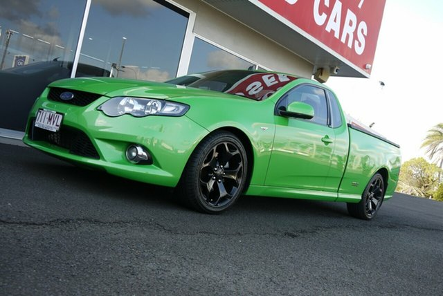 Used Ford Falcon FG XR6 Ute Super Cab Turbo Bundaberg, 2009 Ford Falcon FG XR6 Ute Super Cab Turbo 6 Speed Sports Automatic Utility