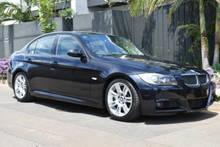 2006 BMW 3 Series E90 335i Steptronic Black 6 Speed Sports Automatic Sedan