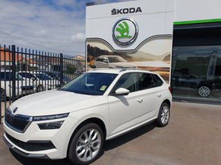 2020 Skoda Kamiq NW MY20.5 85TSI DSG FWD Candy White 7 Speed Sports Automatic Dual Clutch Wagon.