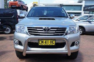 2014 Toyota Hilux KUN26R MY12 SR5 (4x4) Gold 5 Speed Manual Dual Cab Pick-up