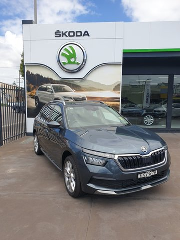 Demo Skoda Kamiq NW MY20.5 85TSI DSG FWD Hamilton, 2020 Skoda Kamiq NW MY20.5 85TSI DSG FWD Quartz Grey 7 Speed Sports Automatic Dual Clutch Wagon