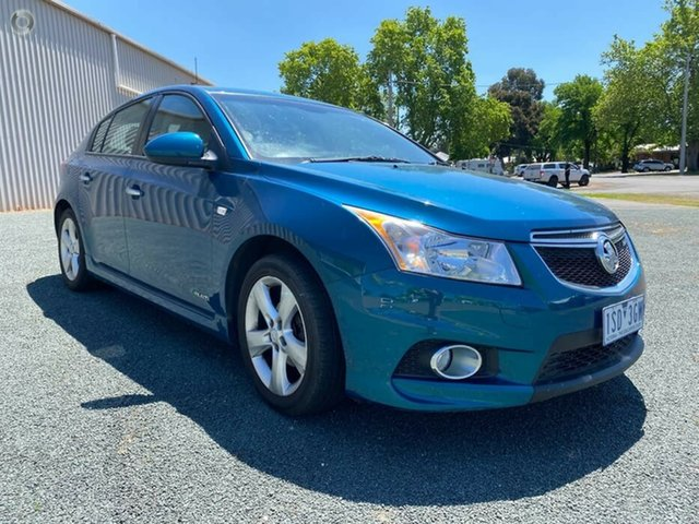 Used Holden Cruze JH Series II MY12 SRi-V Bendigo, 2012 Holden Cruze JH Series II MY12 SRi-V Blue 6 Speed Sports Automatic Hatchback