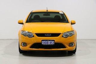 2009 Ford Falcon FG XR6 Orange 6 Speed Manual Utility.