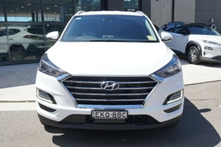 2020 Hyundai Tucson ELITE Elite AWD Pure White 8 Speed Sports Automatic Wagon