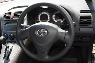 2009 Toyota Corolla ZRE152R Ascent Black 4 Speed Automatic Hatchback