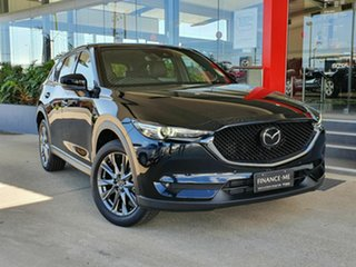 2020 Mazda CX-5 AKERA TURBO Black 6 Speed Automatic Wagon.