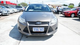 2013 Ford Focus LW MkII Trend PwrShift Brown 6 Speed Auto Sedan.