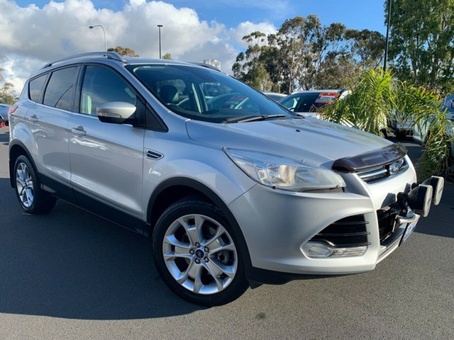 Used Ford Kuga TF MY16.5 Trend PwrShift AWD Bunbury, 2016 Ford Kuga TF MY16.5 Trend PwrShift AWD Silver 6 Speed Sports Automatic Dual Clutch Wagon