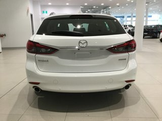 2019 Mazda 6 GL1033 Atenza SKYACTIV-Drive Snowflake White 6 Speed Sports Automatic Wagon