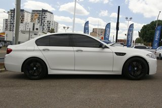 2015 BMW M5 F10 LCI M-DCT White 7 Speed Sports Automatic Dual Clutch Sedan