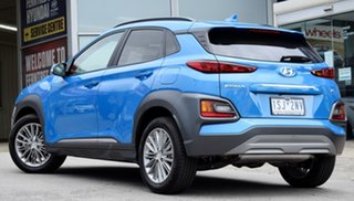 2019 Hyundai Kona OS.3 MY20 Elite D-CT AWD Blue Lagoon 7 Speed Sports Automatic Dual Clutch Wagon.