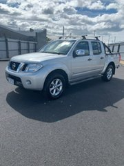 2013 Nissan Navara D40 S5 MY12 ST-X Silver 7 Speed Sports Automatic Utility