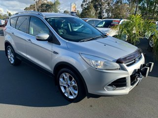 2016 Ford Kuga TF MY16.5 Trend PwrShift AWD Silver 6 Speed Automatic Wagon