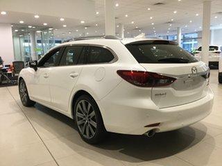 2019 Mazda 6 GL1033 Atenza SKYACTIV-Drive Snowflake White 6 Speed Sports Automatic Wagon