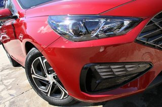 2021 Hyundai i30 PD.V4 MY21 Fiery Red 6 Speed Sports Automatic Hatchback.