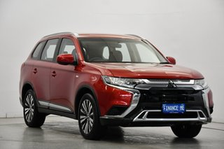 2019 Mitsubishi Outlander ZL MY19 ES AWD Red 6 Speed Constant Variable Wagon