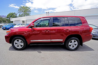 2013 Toyota Landcruiser VDJ200R MY13 Sahara Red 6 Speed Sports Automatic Wagon