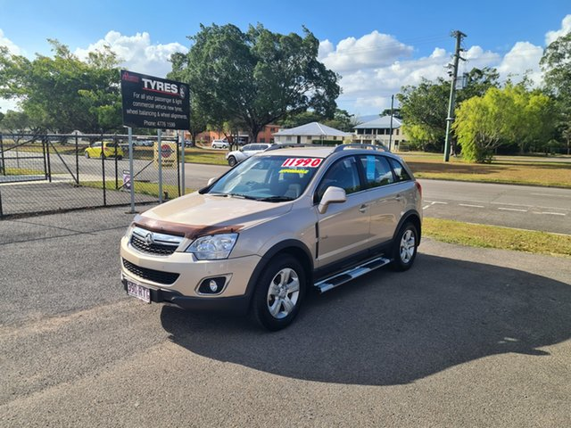 Used Holden Captiva CG 5 Ingham, 2011 Holden Captiva CG 5 Desert Sand 6 Speed Manual Wagon