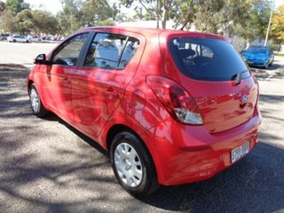 2013 Hyundai i20 PB MY14 Active Red 6 Speed Manual Hatchback