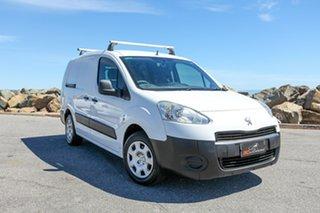 2013 Peugeot Partner B9P MY12 L2 Low Roof MWB White 5 Speed Manual Van.