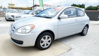 2006 Hyundai Accent MC Silver 4 Speed Automatic Hatchback.