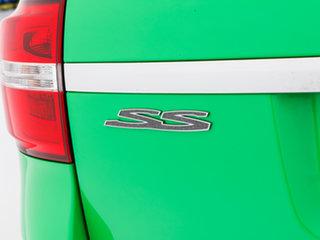 2016 Holden Commodore VF II SS-V Redline Spitfire Green 6 Speed Automatic Sportswagon