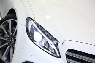 2017 Mercedes-Benz C-Class W205 807+057MY C250 9G-Tronic White 9 Speed Sports Automatic Sedan.