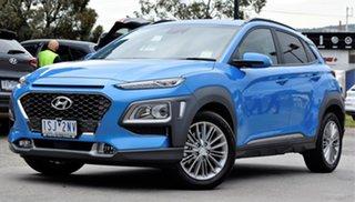 2019 Hyundai Kona OS.3 MY20 Elite D-CT AWD Blue Lagoon 7 Speed Sports Automatic Dual Clutch Wagon