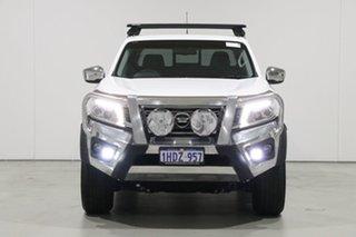 2016 Nissan Navara NP300 D23 ST (4x4) White 7 Speed Automatic Dual Cab Utility.