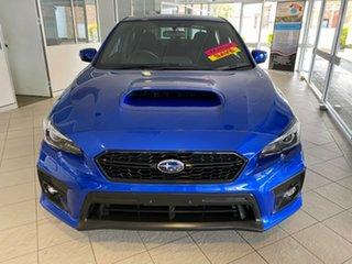 2018 Subaru WRX Blue Manual Sedan.