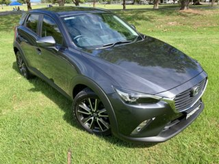 2015 Mazda CX-3 DK2W7A sTouring SKYACTIV-Drive Grey 6 Speed Sports Automatic Wagon.
