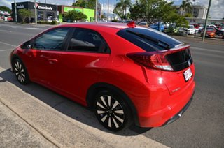 2013 Honda Civic Series 2 VTi-L Red 5 Speed Automatic Sedan.