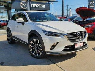 2020 Mazda CX-3 S TOURING White 6 Speed Automatic Wagon.