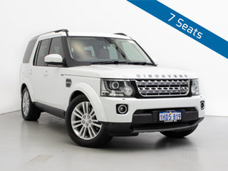 2015 Land Rover Discovery MY15 3.0 SDV6 HSE White 8 Speed Automatic Wagon.