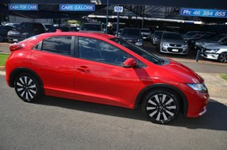 2013 Honda Civic Series 2 VTi-L Red 5 Speed Automatic Sedan