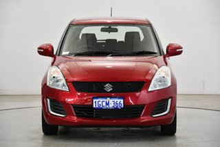 2016 Suzuki Swift FZ MY15 GL Cherry Red 4 Speed Automatic Hatchback.