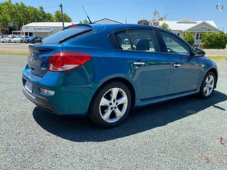 2012 Holden Cruze JH Series II MY12 SRi-V Blue 6 Speed Sports Automatic Hatchback
