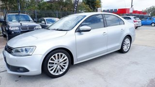 2012 Volkswagen Jetta 1B MY12.5 147TSI DSG Highline Silver 6 Speed Auto Sportshift Sedan