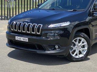 2015 Jeep Cherokee KL MY15 Longitude Black 9 Speed Sports Automatic Wagon