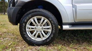 2015 Mitsubishi Pajero NX MY15 GLS Silver 5 Speed Sports Automatic Wagon