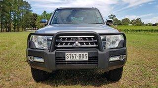 2015 Mitsubishi Pajero NX MY15 GLS Silver 5 Speed Sports Automatic Wagon.