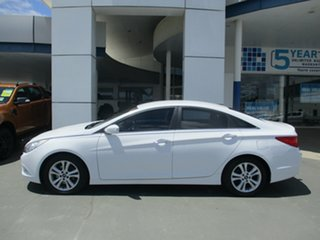 2012 Hyundai i45 YF MY11 Elite White 6 Speed Automatic Sedan.