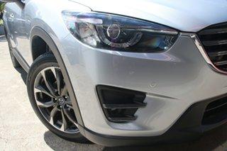 2016 Mazda CX-5 MY15 Akera (4x4) Silver 6 Speed Automatic Wagon.