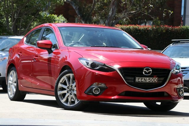 Pre-Owned Mazda 3 BM MY15 SP25 GT Mosman, 2015 Mazda 3 BM MY15 SP25 GT 6 Speed Automatic Sedan