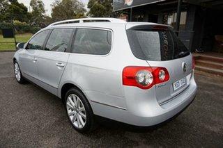 2009 Volkswagen Passat Type 3C MY09 125TDI DSG Reflex Silver 6 Speed Sports Automatic Dual Clutch.