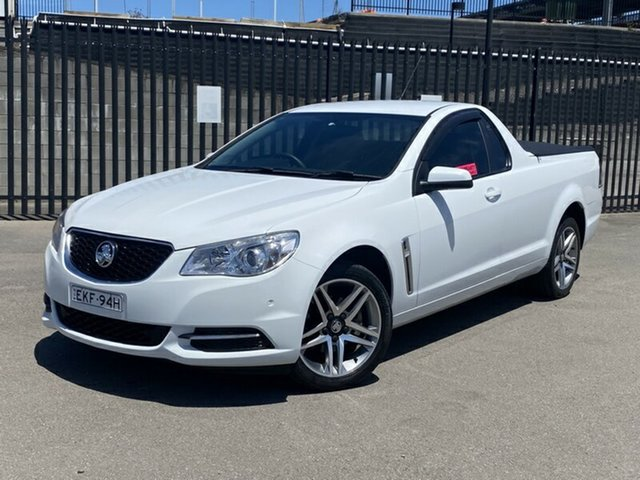 Used Holden Ute VF MY14 Ute Newcastle, 2013 Holden Ute VF MY14 Ute White 6 Speed Sports Automatic Utility