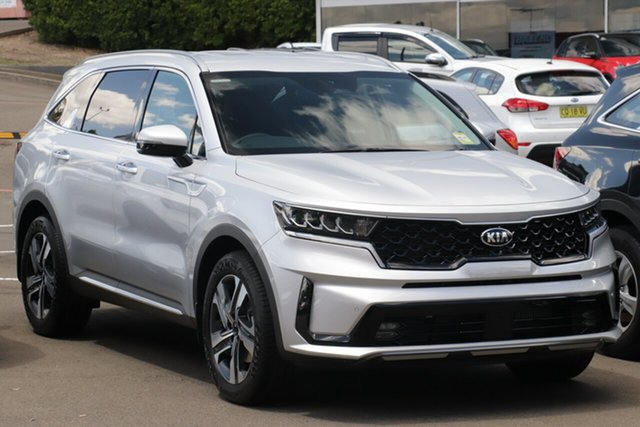 New Kia Sorento MQ4 MY21 Sport+ AWD Mount Gravatt, 2020 Kia Sorento MQ4 MY21 Sport+ AWD Silky Silver 8 Speed Sports Automatic Dual Clutch Wagon